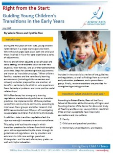 2015_07_28_Transition_in _ealry_years_report_cover