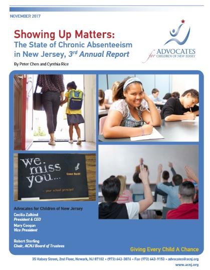 School Attendance   Advocates for Children of New Jersey