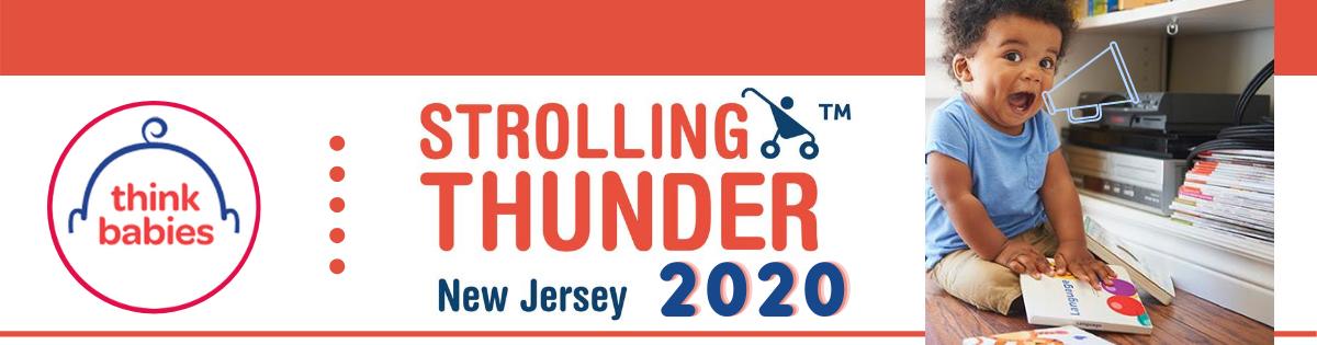 strolling thunder banner